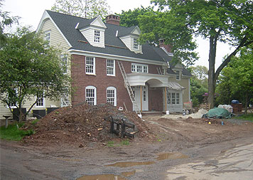 Residential Landscaping - Westfield, NJ Before